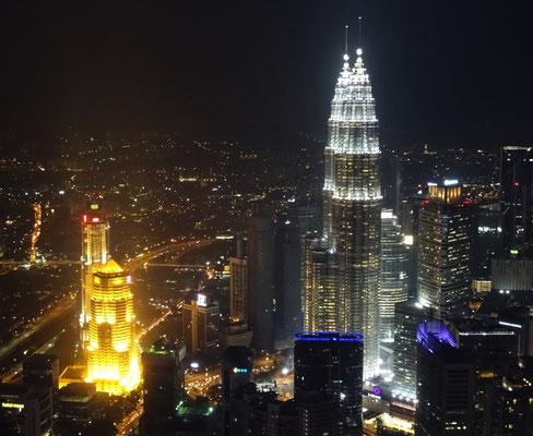 Ausblick vom KL Tower...
