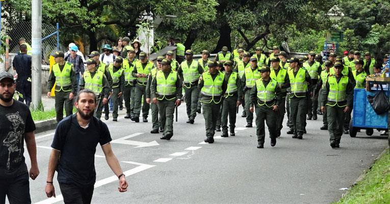 Am Schluss kam die Polizei.