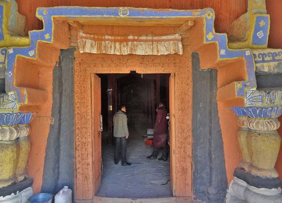 Der alte Eingang zum Tempel
