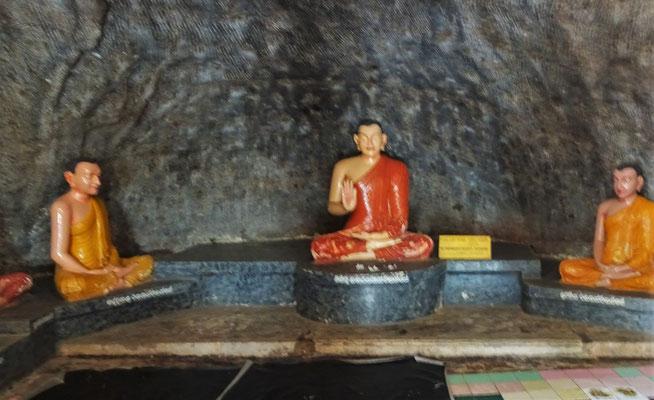 Der erste Meditationsplatz aus dem 3. Jh. vor Christus.