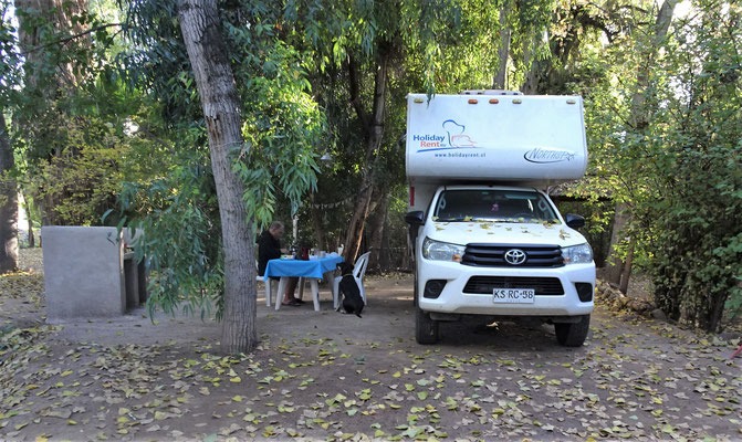 Unser letzter Campingplatz.....