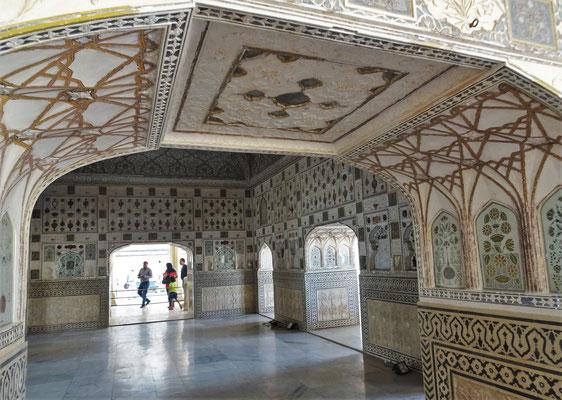 Der Raum für den Maharadscha...