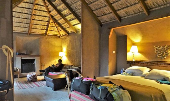Das Innere dieser luxuriösen Villa.....