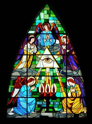 .....und den Kirchenfenster.