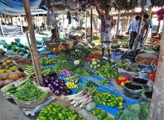 Die Gemüseauswahl