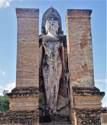 .....den stehenden Buddhas....