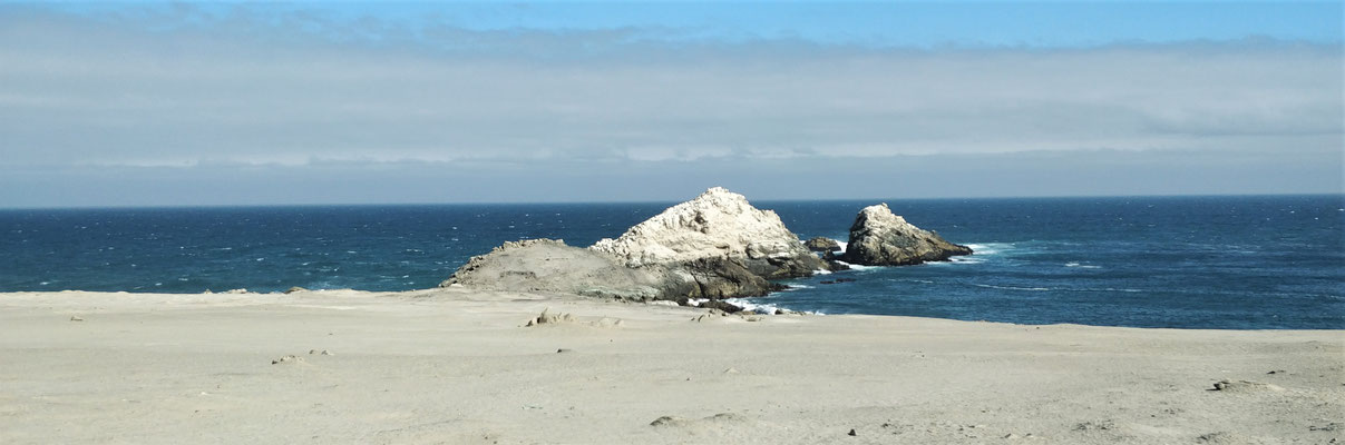 ....der Küste entlang.