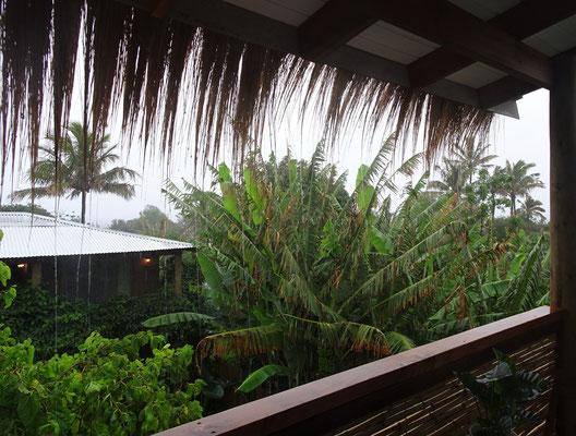Der Abschied mit Regen und.......