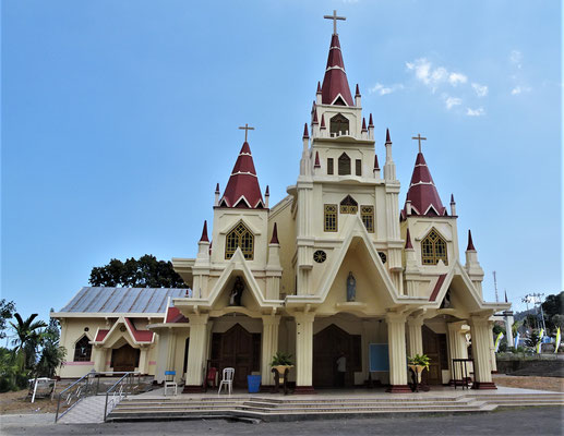 Die Di Gereja Kathedrale in Larantuka.