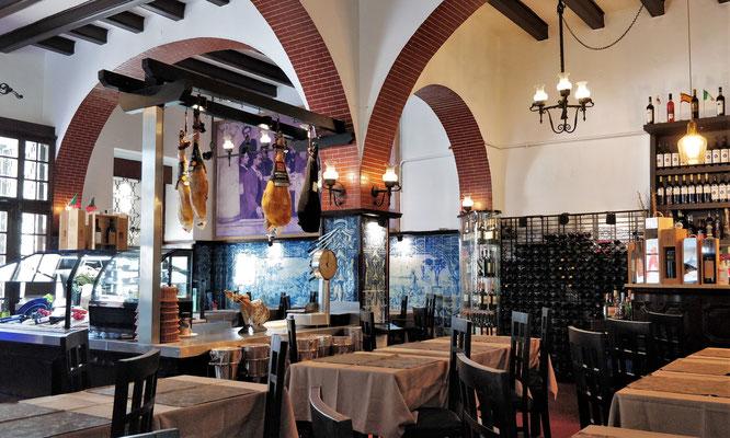 Das Restaurant Leao d'Ouro.