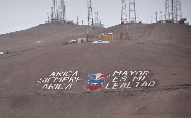 Arica immer Arica.........Grösser ist meine Loyalität.