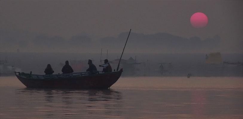 ...auf dem Ganges...