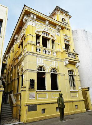 Das Haus des Schriftstellers......