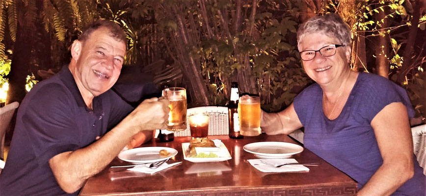 ....im Restaurant Zanzibar.
