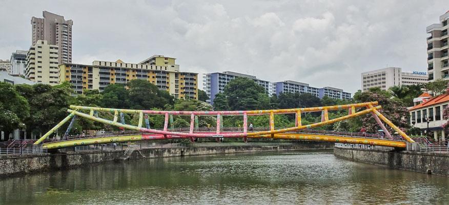 ....und die Brücke in Natura...