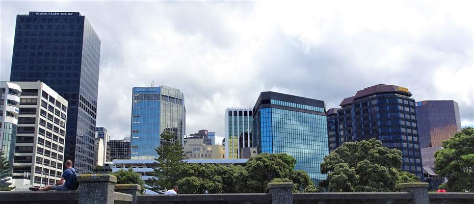 Das Zentrum von Wellington.