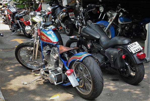 Spezielle Harley