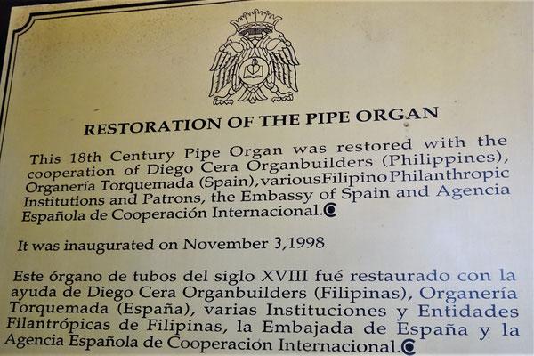 .....die 1998 renoviert wurde.