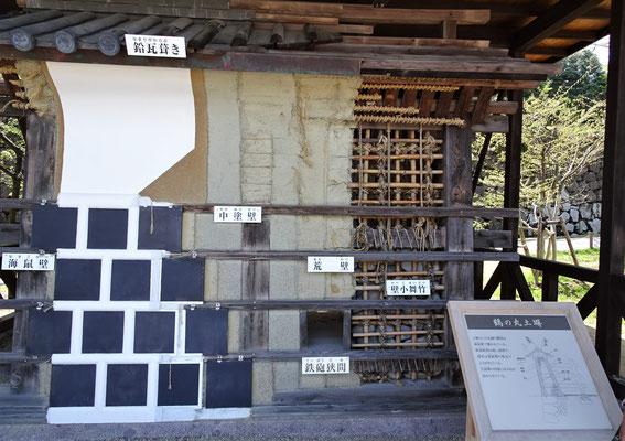 So wurden die Schutzmauern gebaut.