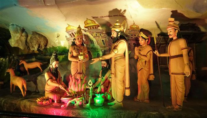 ...der Hindu Gottheiten..
