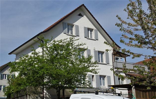 """Unser """"Hotel"""" chez Jacqueline und Nik in Urdorf."""