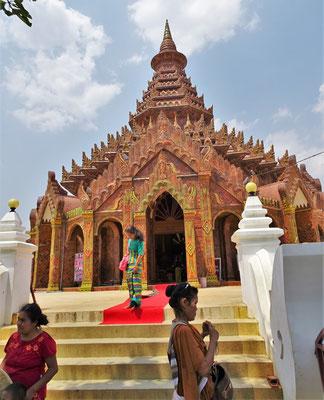 Das Kloster Kon lone sayar Taw Gyi....