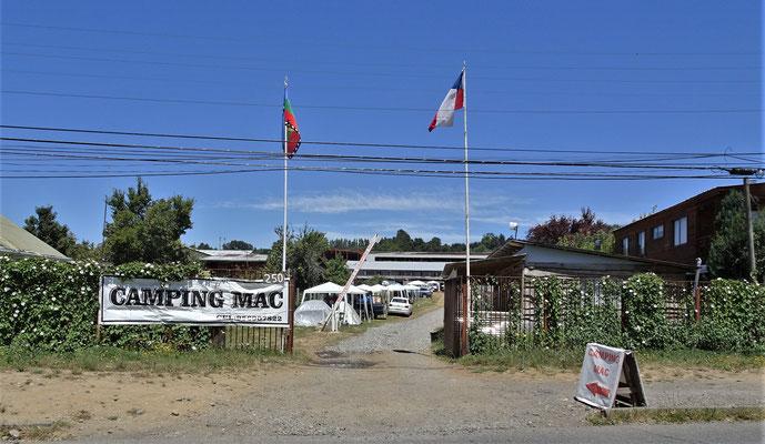 Der Camping Mac in Villarrica.