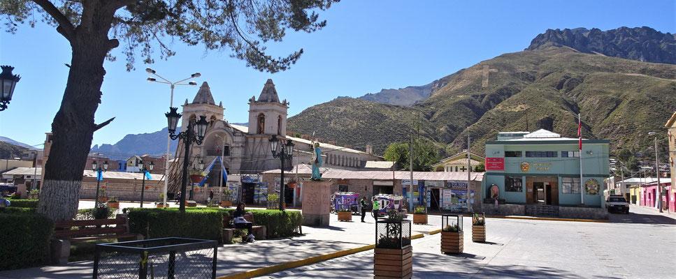 .....die Plaza de Armas.