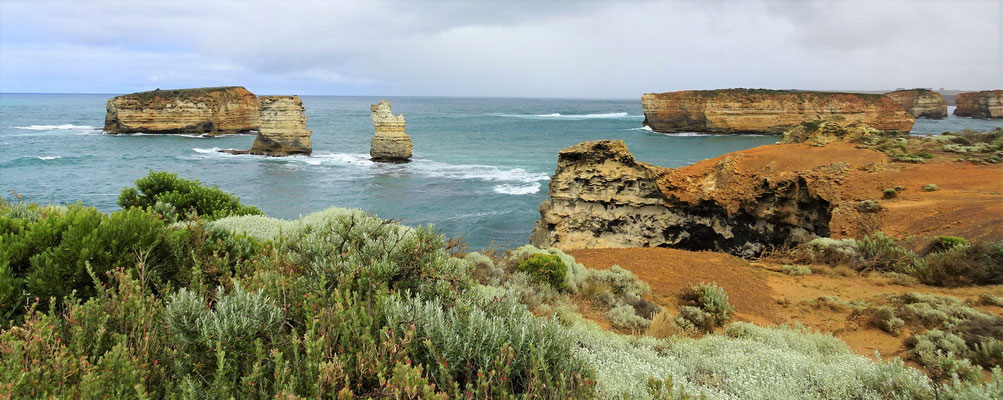 Die Great Ocean Road....