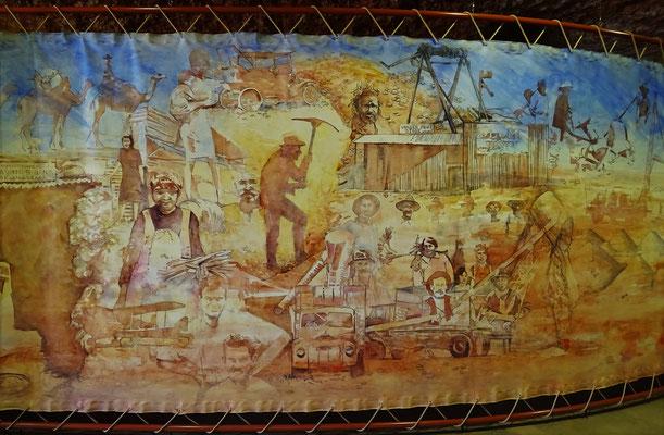 ....wo die Geschichte der Minenarbeiter erzählt wird.