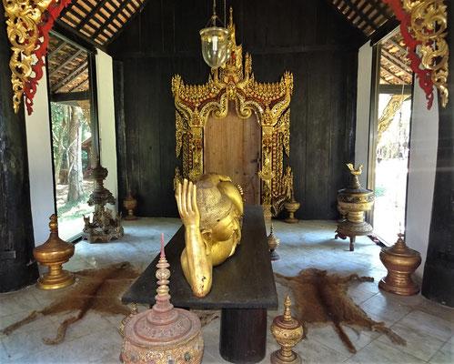 ....liegenden Buddha Häuschen.