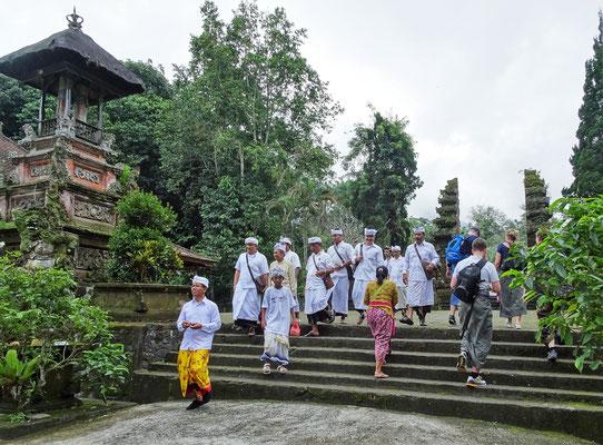 Der versteckte Pura Lahur Batukau Tempel....