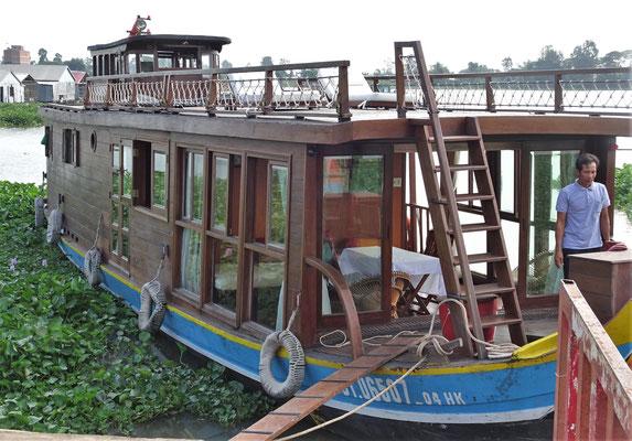 .....unser Gecko 1 Hausboot.