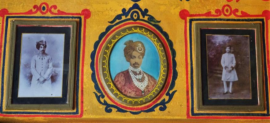 Der Maharadscha von Jodhpur.