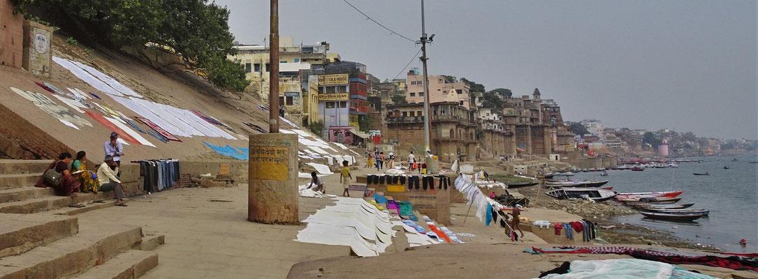 ...heiligen Ganges mit...