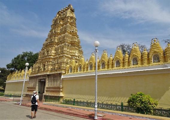 Der Tempel im Palastgelände (leider geschlossen)
