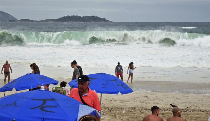 .....mit den grossen Wellen.