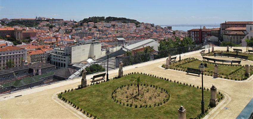 Der Jardim de Sao Pedro da Alcantara.