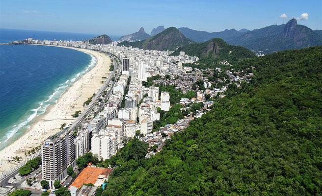 Die Copacabana wo auch....
