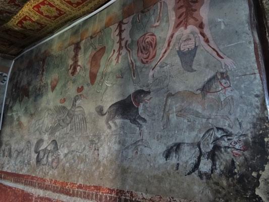 Alte Wandmalereien