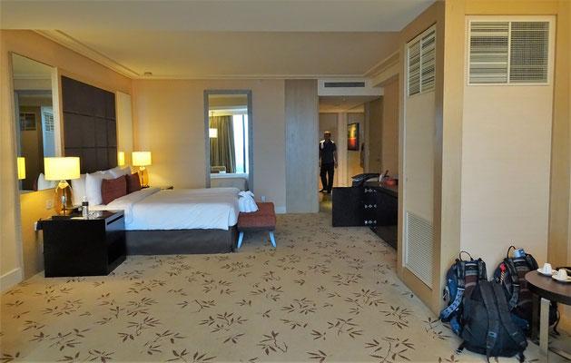 Das Zimmer im 46 Stock....