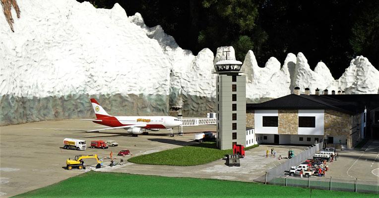 Der Flughafen von Bariloche.....