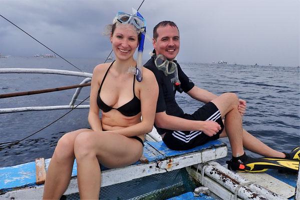 Steffi und Christian aus Deutschland.