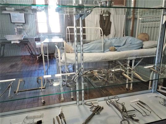 Das Krankenzimmer.