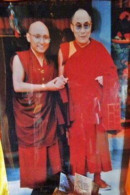 Foto des hoch verehrten Dalai Lama