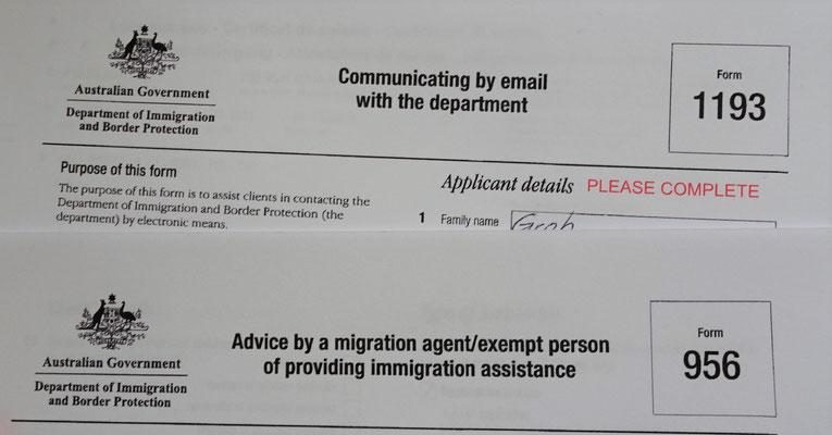 ......Australische Visa.