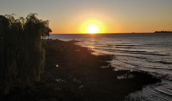 .....und der Sonnenuntergang der.....
