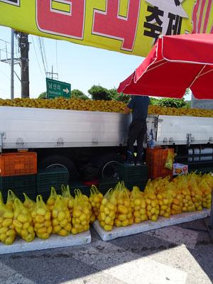 .....kauften wir Gelbe Melonen....