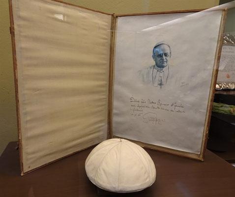 Ein Geschenk des Papstes.