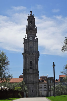 Der Torre de Clerigos.